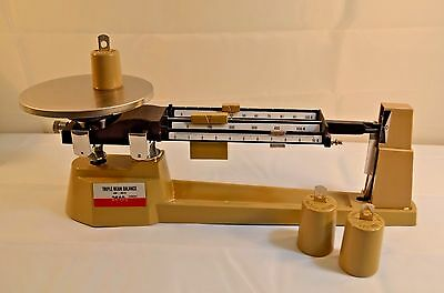 Triple Beam Scale Balance MB-2610 Precision Scientific 2610 Gram Weight Capacity
