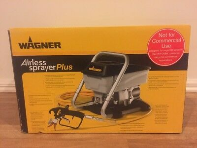 Wagner Airless Paint Sprayer PLUS