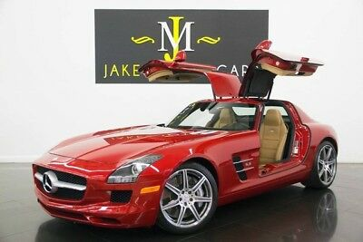 2012 Mercedes-Benz SLS AMG GULLWING (1-OWNER) 2012 SLS AMG GULLWING, ONLY 9400 MILES! AMG LE MANS RED! 1-OWNER! COLLECTOR CAR!