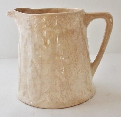 "ANTIQUE IRONSTONE PITCHER - PRIMITIVE - 5"" Tall - Marked"
