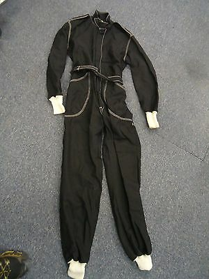 Fastman wool race suit size 4 Black.  Excellent condition - Used.