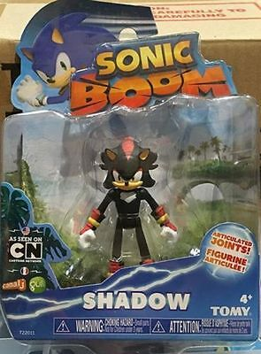 Sonic Boom 3 Inch Plastic Figure Toy - Shadow