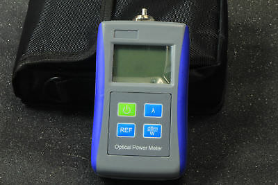 Fiber Optic Test -70+10 dBm Digital Handheld Optical Power Meter FC Adaptor NEW