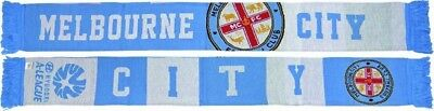 Melbourne City Supporters Scarf- 100% Official A-League Product