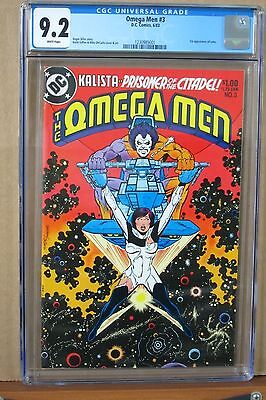 The Omega Men #1 CGC 9.2 first Appearance of LOBO, Griffen & DeCarlo Cover & Art