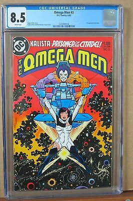The Omega Men #1 CGC 8.5 first Appearance of LOBO, Griffen & DeCarlo Cover & Art