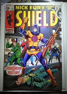 NICK FURY, AGENT OF SHIELD #15 First Appearance And Death Of Bullseye