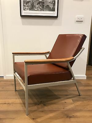 Restored Lido Armchair designed by Grant Featherston for Aristoc Industries