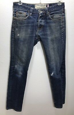 DETH KILLERS Bushwick Men's Denim Blue Jeans 32 X 34 USA DKMC Asphalt Resistant