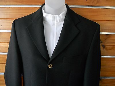 WINDSOR Men's Black Warendorf Jacket (size 36)