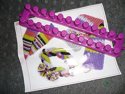 Style Me Up - Rectangle Purple Knitting Loom