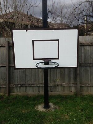In Ground Basketball Ring