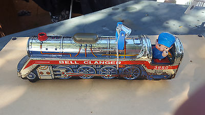 Bell Clanger Vintage train. Collectable