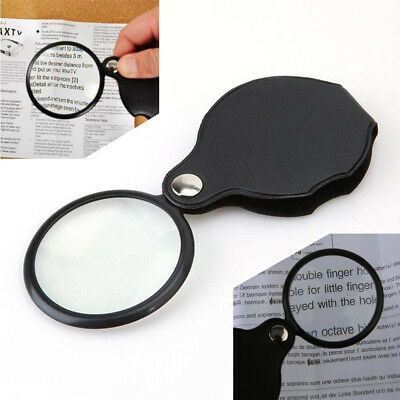 Folding 8X Mini Pocket Jewelry Magnifier Magnifying Eye Glass Loupe Lens Optical