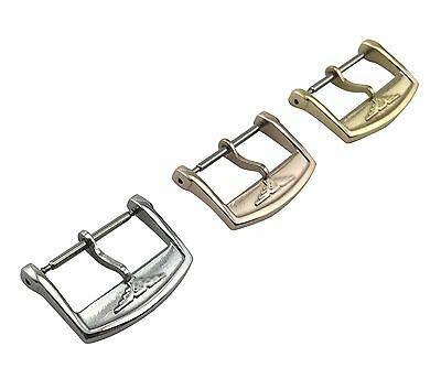 LONGINES Watch Buckle/Clasp Strap/Band Silver Rose/Yellow Gold 16mm 18mm 20mm