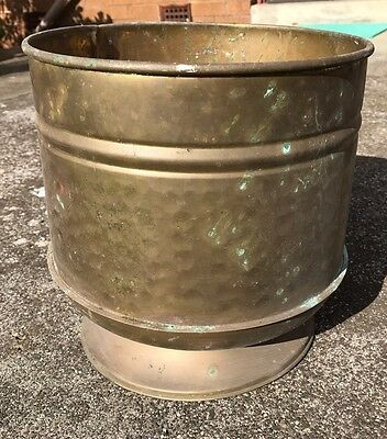 Vintage Copper And Brass Planter