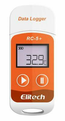 Elitech RC-5+ PDF USB Temperature Data logger 32000 Points Reusable