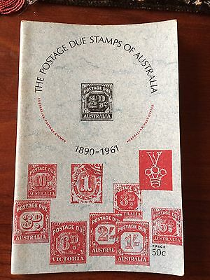 Australian Postage Stamps Booklet - The Postage Due Stamps Australia 1890-1961