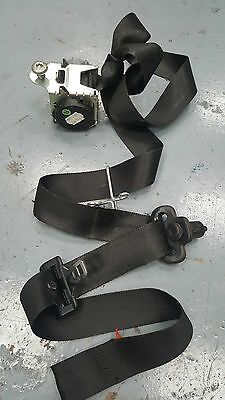 Ford Fiesta Mk6 2006 3Dr Hatch Driver O/s Front Seat Belt 2S5A B61294 Ad