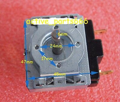 DKJ/1-15, 15 Minutes 15M Timer Switch for Electronic Microwave Oven, cooker etc.