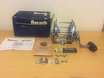 Vintage Penn Special Senator 114H 6/0 Made In USA Over Head Fishing Reel NEW!!