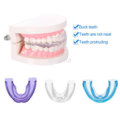 1Pcs Soft Material Dental Orthodontic Teeth Braces Tooth Retainer Phase I + II