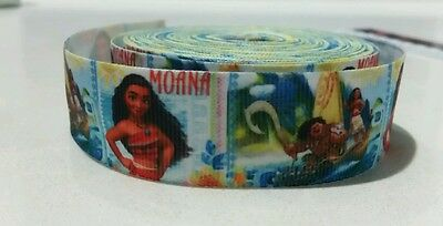 Disney Moana Ribbon for craft, hair accessories, cakes, etc