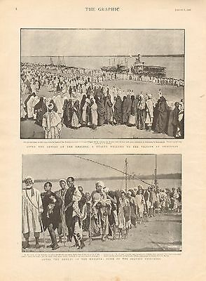 1900 Antique Print - Sudan-After The Defeat Of The Kalifa