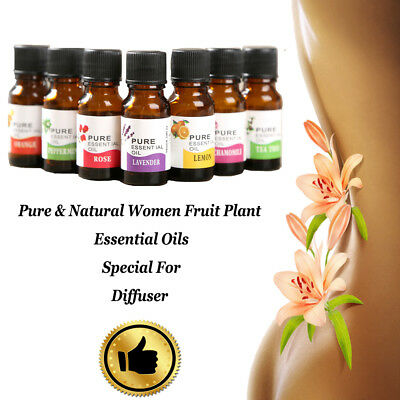 NEW Essential Oil Pure & Natural Aromatherapy For Diffuser - Choose Fragrance #A
