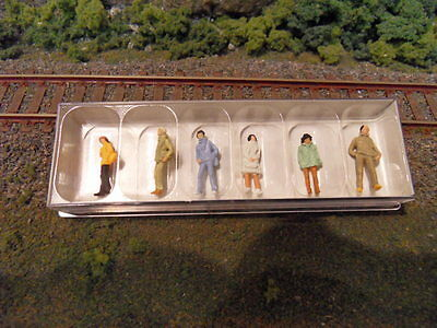 Preiser #14005, People Standing. Ho Scale, Brand New.