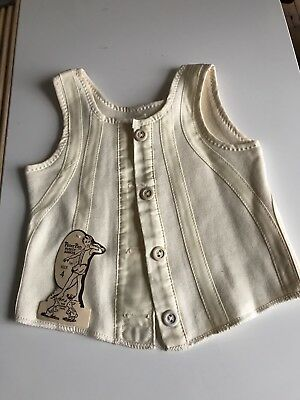 Original c1940 Child's Size 4 Peter Pan Liberty Bodice Unworn With Labels Vgc Nr