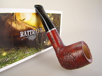 Rattray's Pipe Pfeife Goblin Sandgestrahlt Shape 100 9mm Filter #409