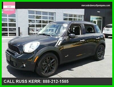 2012 Mini Countryman S 2012 S Manual All Wheel Drive Moonroof We Finance and assist with Shipping