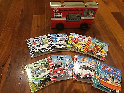 bulk vehicles books for preschoolers with carrier 8 books paul the police car
