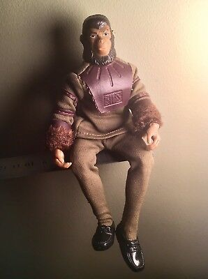 "Vintage 1974 Planet Of The Apes 8"" Action Figure Cornelius 20cm Articulated"