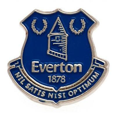 Everton FC Football Club Crest Pin Badge EFC Stud Fixed Official Merchandise