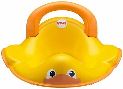 Fisher-Price Ducky Perfect Fit Potty Ring, Yellow/Orange/White