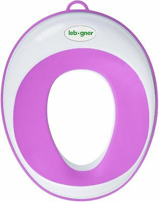 Kids Toilet Training Seat By Lebogner - Purple, Potty Trainer For Boys And Girls