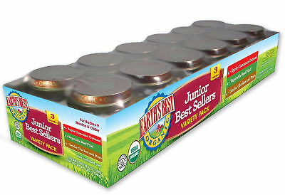 Best 3 Organic Stage Pack Earth S 12 6 Variety Junior Count Sellers Ounce Jars