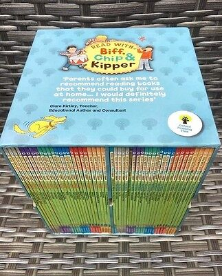 Biff Chip and Kipper Phonics & First Stores Levels 1-6, 49 Book Box Set FREE P&P