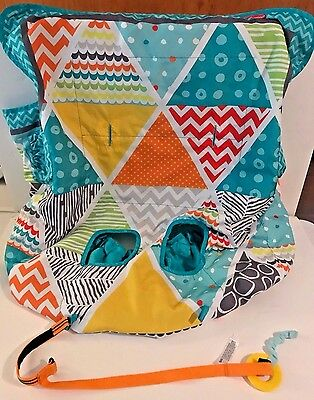 Infantino 'Compact - Aqua' Cart & Highchair Cover - Used (VGC!)