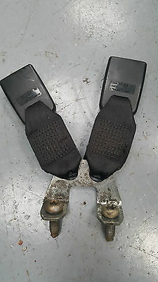 Ford Fiesta Mk6 02-08 3Dr Rear Seat Belt Buckles & Anchor 2S6A-A613K21-Ad