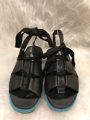 c993f8db9 Circus By Sam Edelman Riley Women s US 7 EUR 37.5 Black Lace Up Sandals