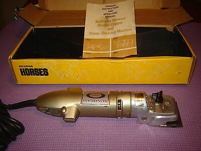 Sunbeam Stewart Clipmaster Deluxe EW610 Variable Speed Animal Clippers