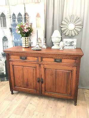 Beautiful antique mahogany sideboard/buffet by Maple.co