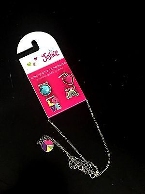 NIP Justice Charm Necklace Girls Jewelry Never Worn - Cute!