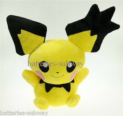 New Pokemon Pichu Center Pokedoll Soft Stuffed Plush Doll Toy gift 30cm 12""