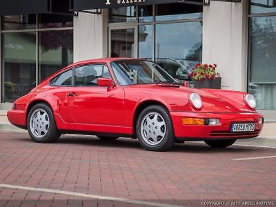 1991 Porsche 911 Carrera Completely stock - Pristine C2 Coupe - Original 52000 Miles -  Fantastic Paint.