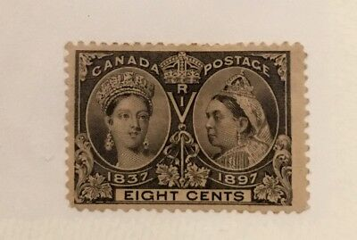 Canada Scott 56 Queen Victoria Jubilee Eight Cent-Mint