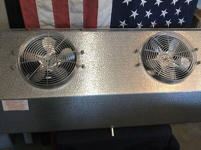 "Heatcraft C43AG Evaporator 2 Fan Coil  115Volts. ""NEW"""